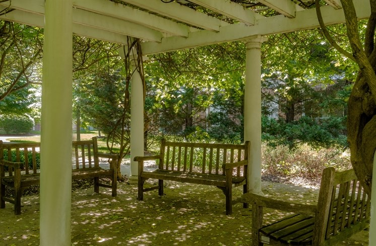 Outdoor Space With Grills & Picnic Area at The Garfield, Bowie