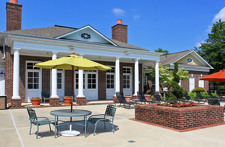 Outdoor Sundeck With Lounge Seating at The Garfield, MD 20716