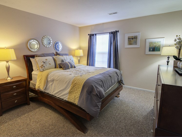 Warm and Inviting Bedrooms; Waterford Pines in Waterford, MI