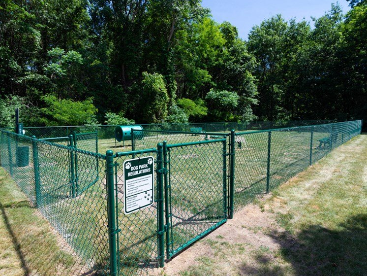 Fenced in Dog Park, Waterford Pines in Waterford, MI