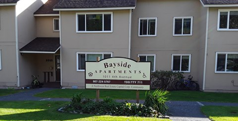 Bayside property sign