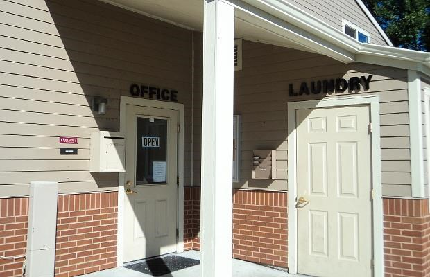 Office and Laundry doors