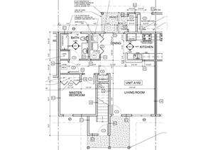 1 bedroom units