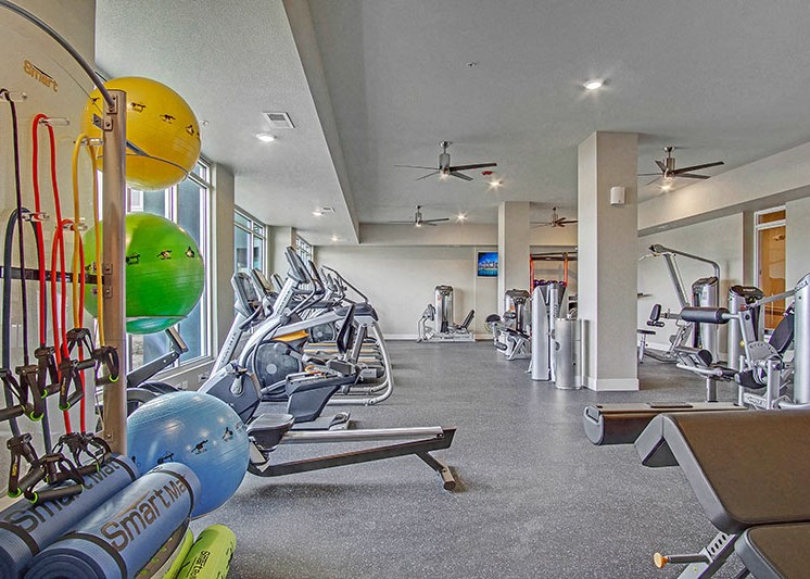 Fitness Room l Waterfront at the Marina in Sparks NV
