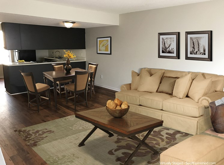 Large Living Spaces to Stretch Out with Friends and Family
