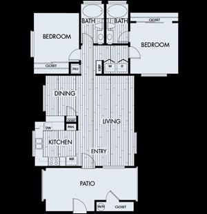 Park Sierra Plan 2B (2nd floor)