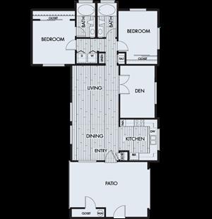 Park Sierra Plan 2E (2nd floor)