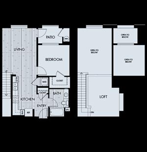 Vantis Plan 1CL (Loft/Penthouse)