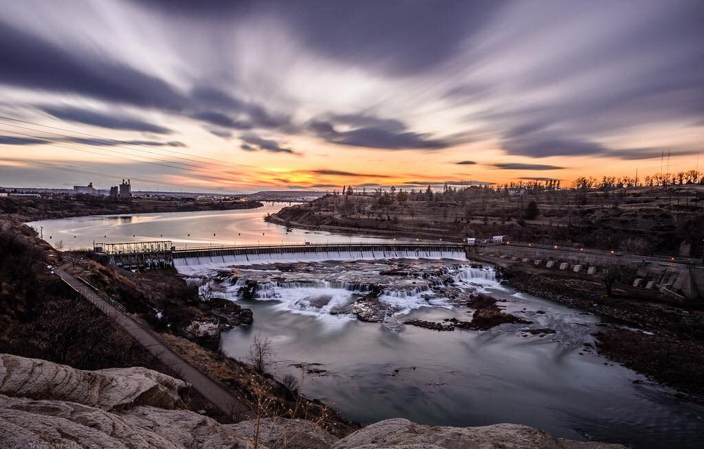 River in Great Falls