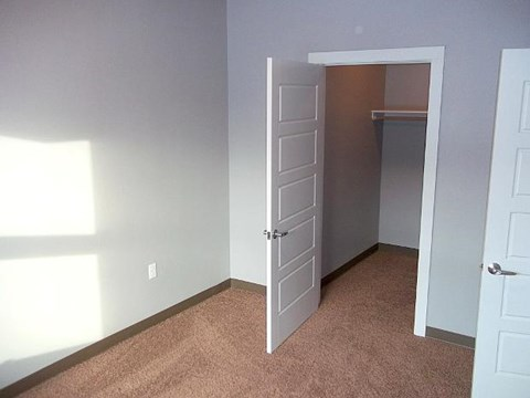 View of closet in room