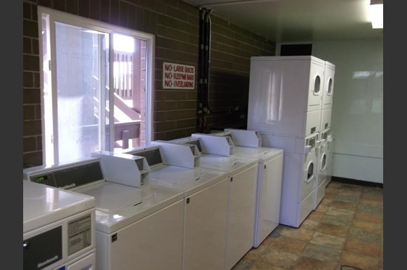 Laundry Facility With Washers And Dryers
