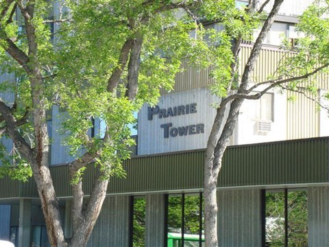 Prairie Tower Sign