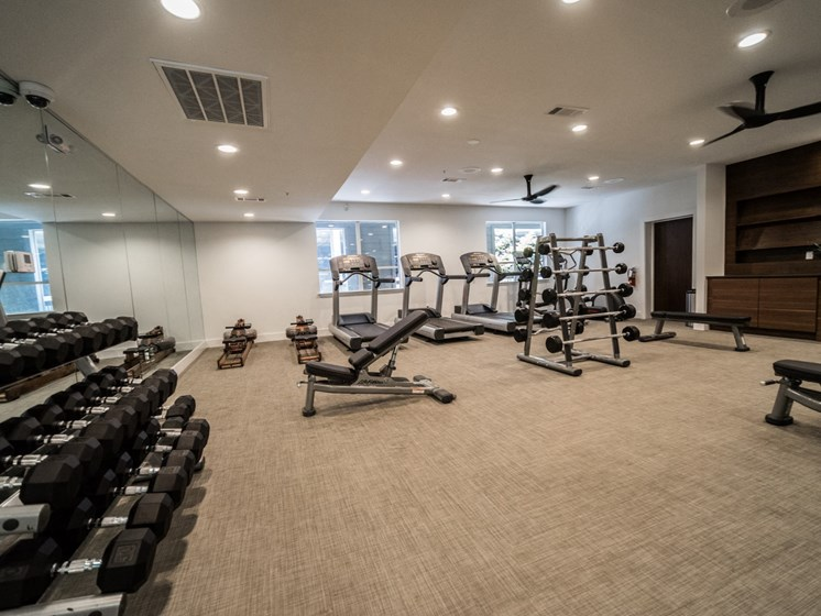 soco apartments in austin with fitness center