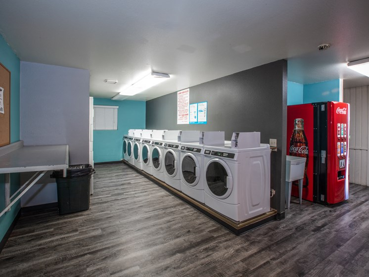 Meadow Ridge Apartments Community Laundry Room