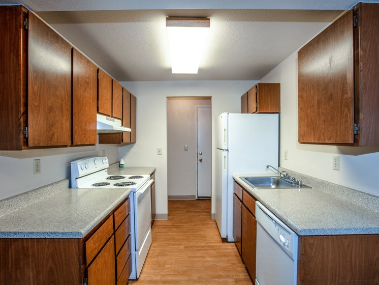Meadow Ridge Apartments Kitchen