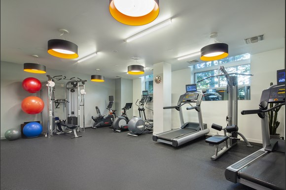 Westwood-luxury-apartments-NMS-Wilshire-Margot- State Of The Art Fitness Center at Wilshire Margot, Los Angeles, CA, 90024