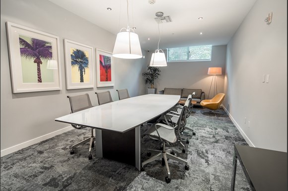 Westwood-luxury-apartments-NMS-Wilshire-Margot- Conference-Room at Wilshire Margot, Los Angeles, 90024