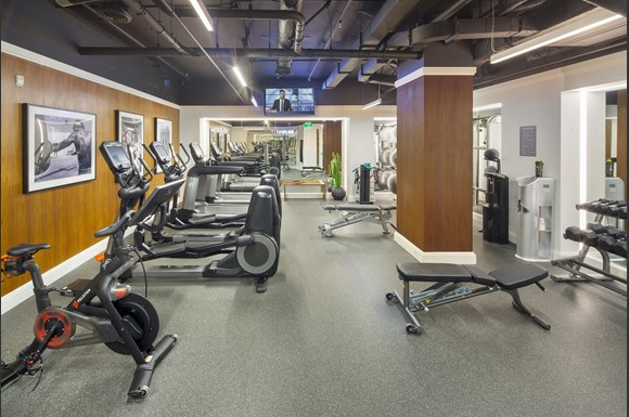 Westwood Luxury-Apartments-Wilshire-Victoria-Interior-Fitness-Center-Amenity-Product
