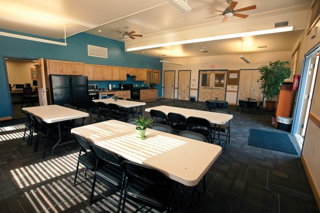 Community room at Council Groves
