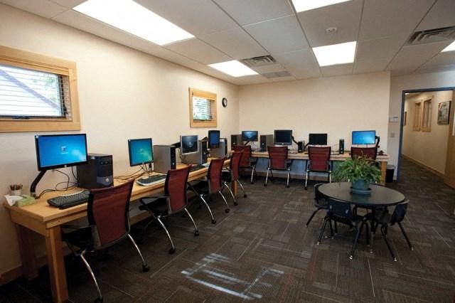 Computer center at Council Groves