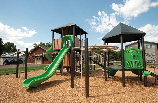 Playground equipment at Council Groves