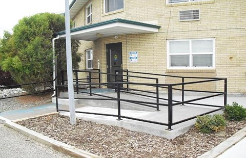 Wheelchair Ramp at Homes on the Range