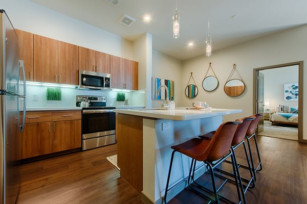 Spacious Kitchen at Tempo at McClintock Station in Tempe