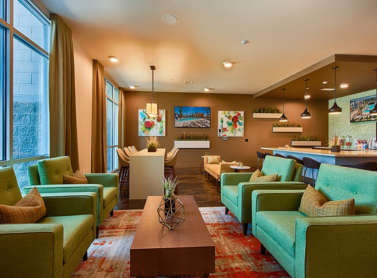 Luxurious Interiors  at Tempo at McClintock Station, 1831 East Apache Blvd, Tempe, AZ