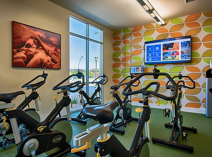 Full Scale Fitness Studio at Tempo at McClintock Station, Tempe, Arizona