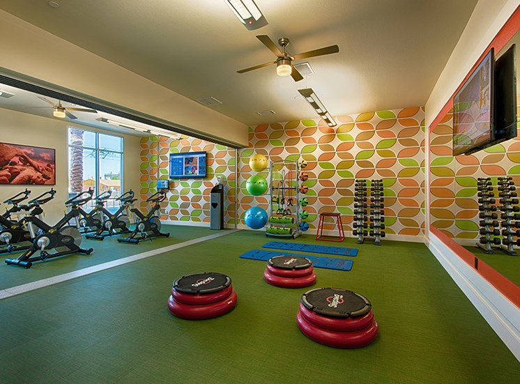 High-Tech Fitness Center at Tempo at McClintock Station, 1831 East Apache Blvd, Tempe, AZ 85281