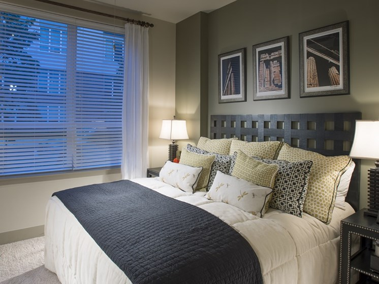 The Porter Brewers Hill Baltimore MD Apartment Master Bedroom
