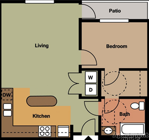1 Bedroom/1 Bath