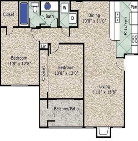 Hamlet Floor Plan 3