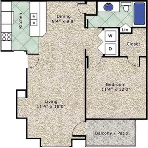 Othello Floor Plan 1