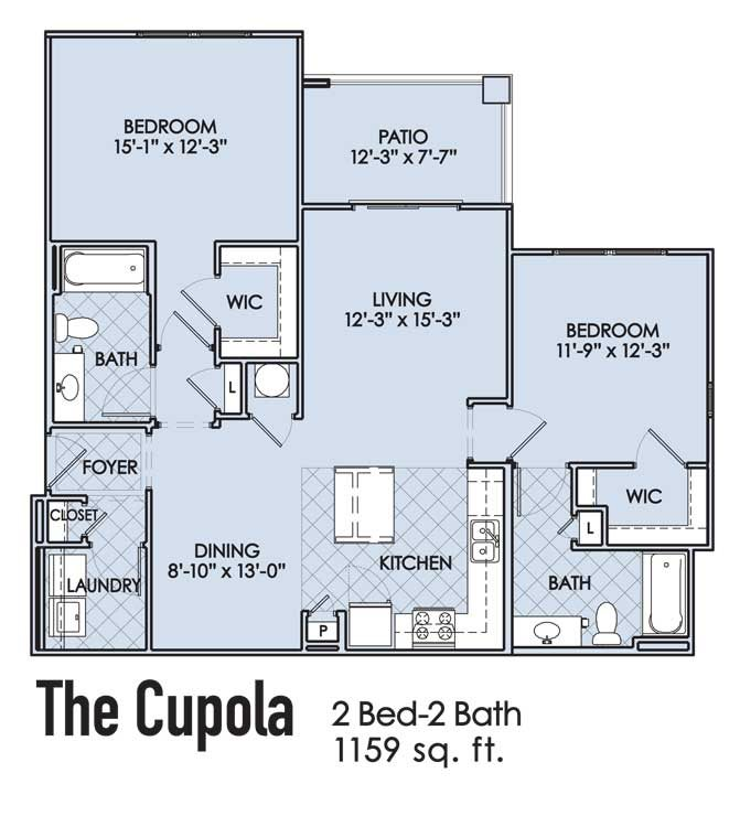 The Cupola Floor Plan 4