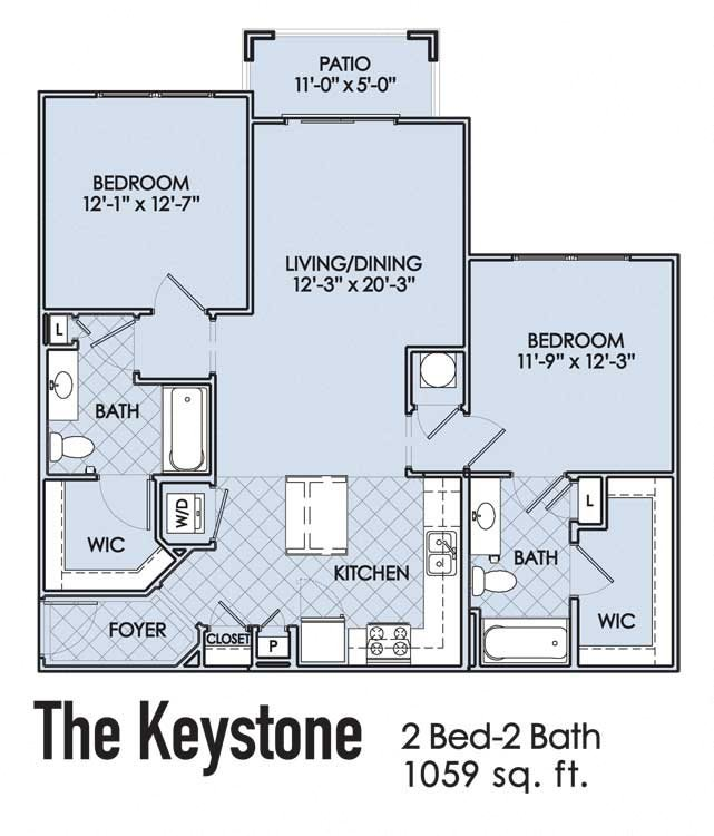 The Keystone Floor Plan 3