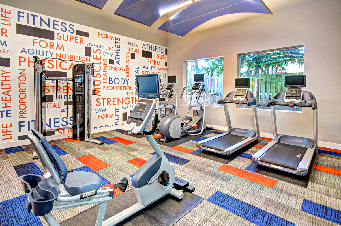 Fitness Center_Windsor Apartments For Rent in Renton WA 98059