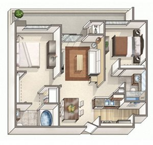Two Bedroom E