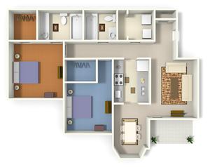 The Reserve at Mill Landing Santee Floor Plan Lexington, SC 29072, Columbia, SC