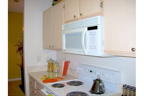 Reserve at Mill Landing Apartments white appliances