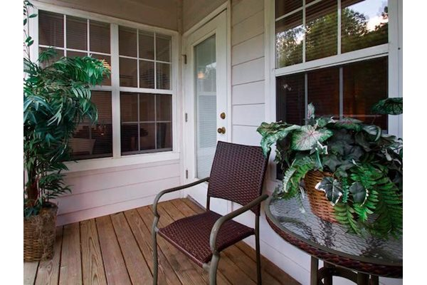 Reserve at Mill Landing Apartments private patio or balcony