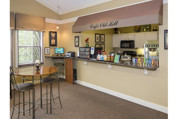 Reserve at Mill Landing Apartments Coffee Bar