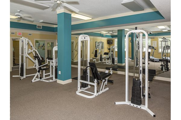 Reserve at Mill Landing Apartments weight room