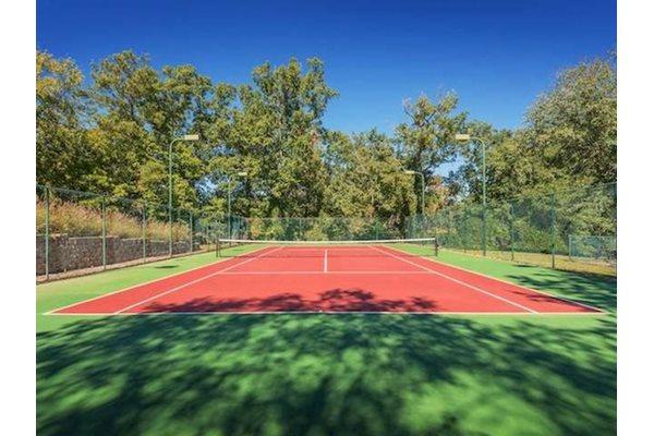 Reserve at Mill Landing Apartments Illuminated Tennis Court