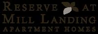 The Reserve at Mill Landing Apartment Homes Logo Lexington, SC 29072, Columbia, SC