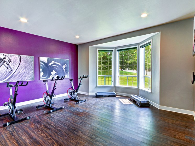 Silverdale WA Apartments for Rent - Wellington Apartments Fitness Center