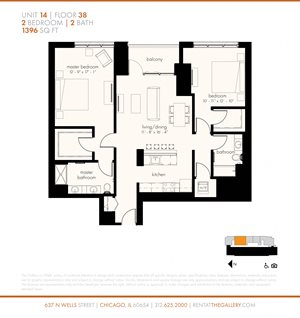 Two Bedroom (1396 sf)