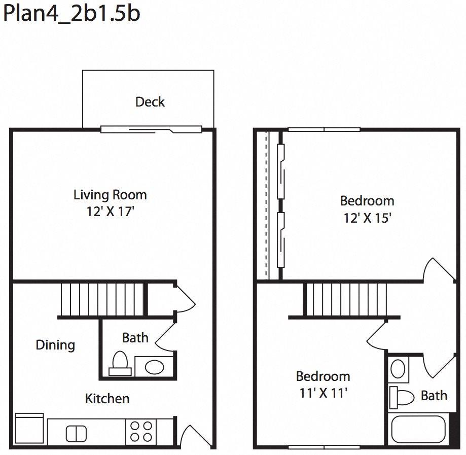 1 2 bedroom apartments in everett wa floor plans - One bedroom apartments everett wa ...