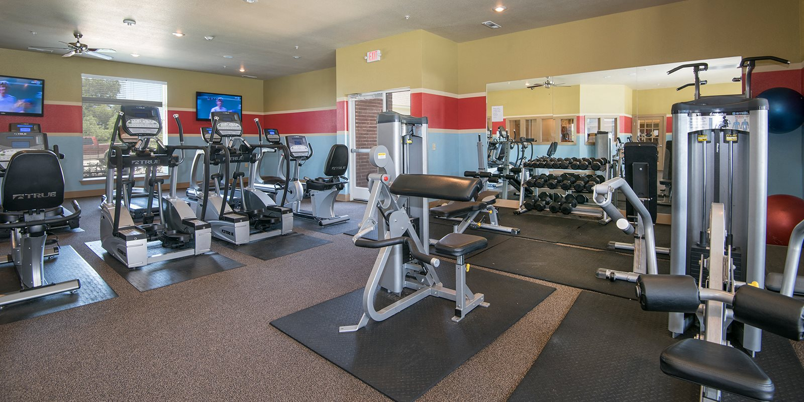 Cardio Equipment at The Greens on Aspen, Broken Arrow,Oklahoma