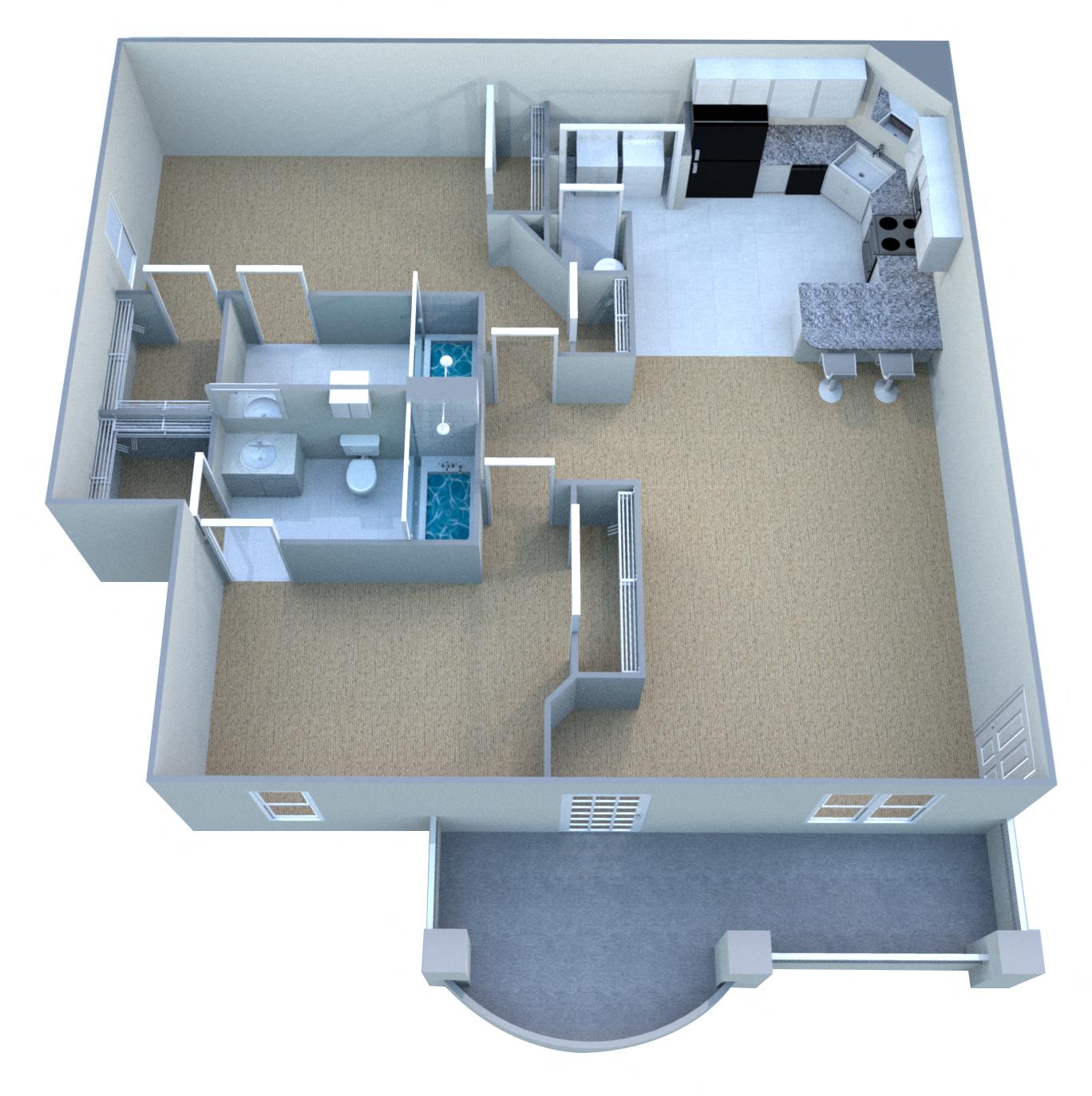 Owasso Apartments: Floor Plans Of The Greens At Owasso III/IV In Owasso, OK